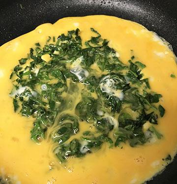 卵たっぷり